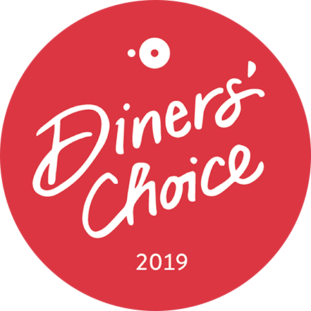 Open Table Diner's Choice 2019